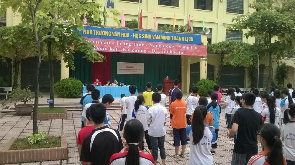 Khai mạc cuộc thi giải chạy dai sức trong khuôn khổ giải chạy báo Hà Nội mới lần thứ 41