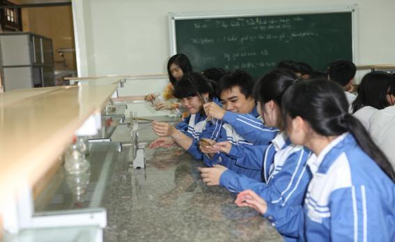 Phòng thí nghiệm bộ môn Hóa học
