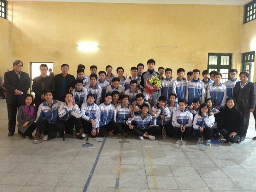 Thầy Hà Hàn Tín - Giáo viên đạt giải nhất thi Giáo viên giỏi cấp Thành phố môn Thể dục